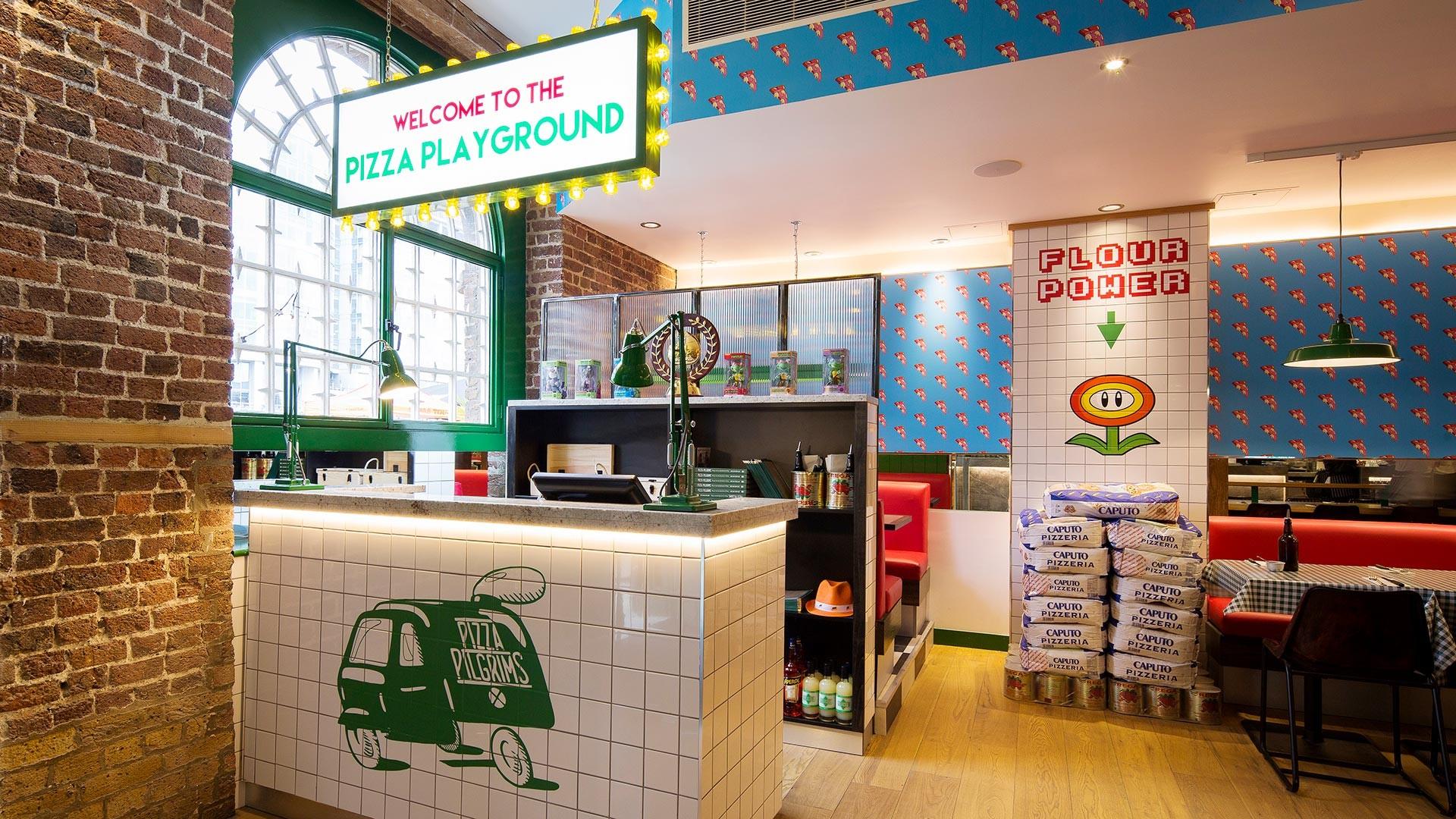 One of Pizza Pilgrims' London sites
